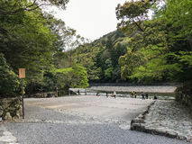 Ufergegend in Ise Jingu Lizenzfreies Stockbild