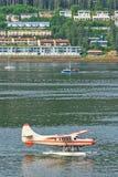Ufergegend-Morgen-Hauptverkehrszeit Alaskas Juneau Lizenzfreies Stockfoto