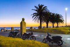 Ufergegend-Park, Montevideo, Uruguay stockbild