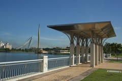 Ufergegend-Promenade Lizenzfreie Stockfotos