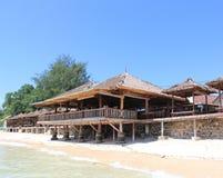 Ufergegend-Restaurant Lizenzfreies Stockbild