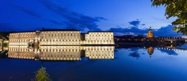Ufergegend in Toulouse lizenzfreies stockbild