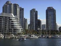 Ufergegend in Vancouver Stockfotografie