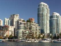Ufergegend in Vancouver Lizenzfreie Stockfotos