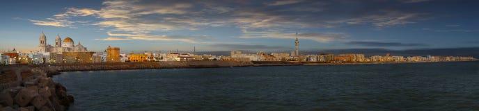 Ufergegend von Cadiz Lizenzfreie Stockfotos