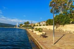 Ufergegend von Orbetello auf Halbinsel Argentario toskana Italien stockbilder