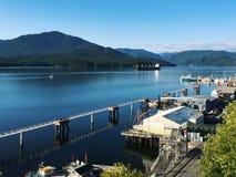 Ufergegend von Prinzen Rupert, Britisch-Columbia, Kanada Stockfotografie