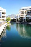 Ufergegend-Wohnung Stockfotos