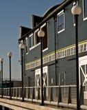Ufergegendgebäude Stockbilder