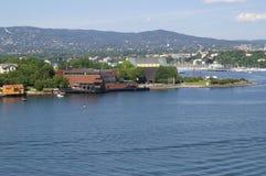 Ufergegendgehäuse lizenzfreies stockfoto