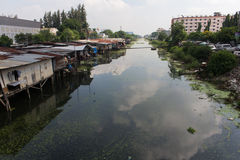 Ufergegendgemeinschaft Stockfotos