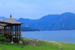 Ufergegend-Häuschen Lizenzfreies Stockbild