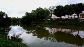 Ufergegendhaus Stockfotografie