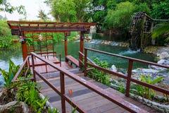 Ufergegendpavillon Lizenzfreies Stockfoto