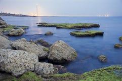 UfergegendTriebwerkanlage Lizenzfreies Stockfoto