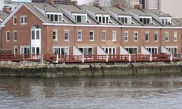 Ufergegendwohnsitz Stockfotos