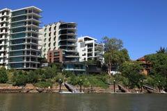 Ufergegendwohnungen Lizenzfreie Stockfotografie