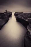 Uferschnecken-Schlucht stockfoto