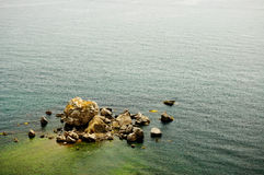 Ufersteine. Stockfoto
