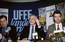 UFFE ELLEMANN-JENSEN_FORMER部长 库存图片
