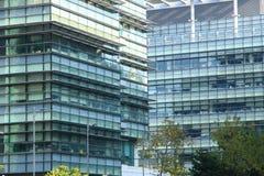 Uffici di alta tecnologia in Hong Kong Fotografia Stock Libera da Diritti