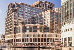 Uffici di Credit Suisse in Canary Wharf Immagine Stock Libera da Diritti