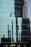 Uffici di vetro di Bangkok Immagine Stock