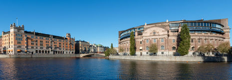 Uffici governativi svedesi Fotografia Stock Libera da Diritti