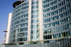 UFFICI ITALIA di costruzione moderna  Immagini Stock Libere da Diritti