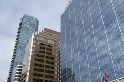 Uffici moderni della costruzione Immagine Stock