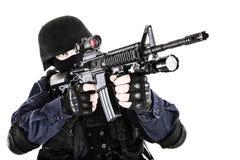Ufficiale dello SCHIAFFO Fotografie Stock Libere da Diritti