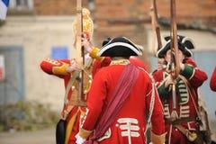 Ufficiale di esercito britannico Fotografia Stock