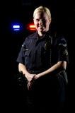 Ufficiale di polizia Immagini Stock