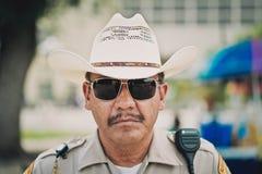 Ufficiale di polizia Fotografia Stock