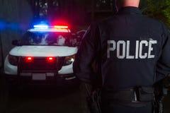 Ufficiale di polizia Fotografie Stock Libere da Diritti