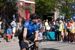 Ufficiale di polizia ad ovest di Hartford Fotografia Stock Libera da Diritti