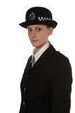 Ufficiale di polizia BRITANNICO femminile Fotografie Stock