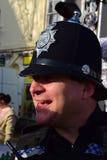 Ufficiale di polizia di Cornovaglia e di Devon Fotografie Stock