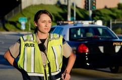 Ufficiale di polizia femminile Immagine Stock Libera da Diritti