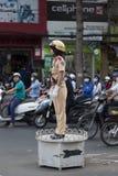 Ufficiale di polizia nel Vietnam Fotografie Stock Libere da Diritti