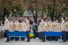Ufficiale di polizia Oath Fotografie Stock Libere da Diritti