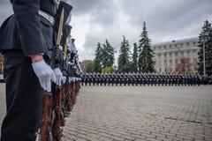Ufficiale di polizia Oath Fotografie Stock