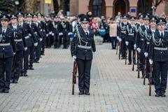 Ufficiale di polizia Oath Immagini Stock