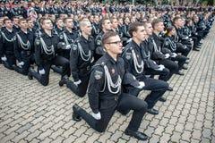 Ufficiale di polizia Oath Fotografia Stock Libera da Diritti