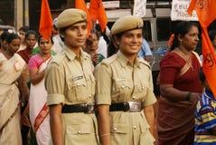 Ufficiali di polizia fotografie stock libere da diritti