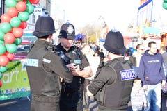 Ufficiali di polizia di Cornovaglia e di Devon Fotografie Stock Libere da Diritti
