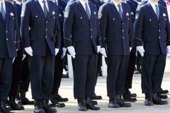 Ufficiali di polizia giapponesi Fotografie Stock Libere da Diritti
