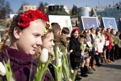 Ufficiali ucraini Fotografia Stock Libera da Diritti