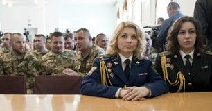 Ufficiali ucraini Fotografie Stock Libere da Diritti