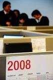 Ufficio in 2008 Fotografia Stock Libera da Diritti